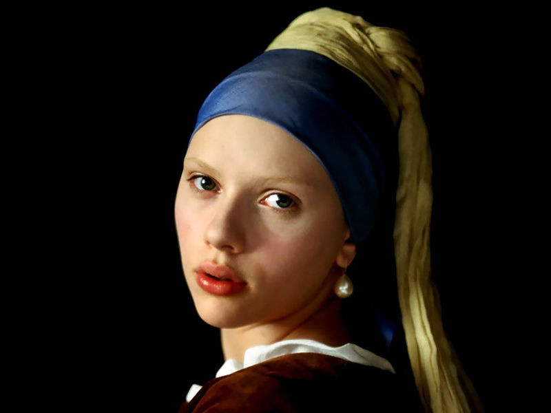 girl with pearl earing