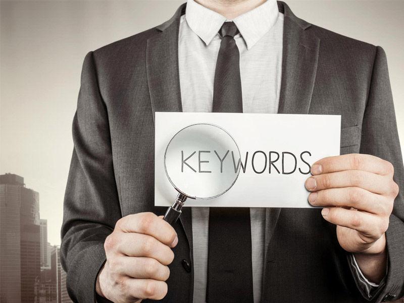 right keywords