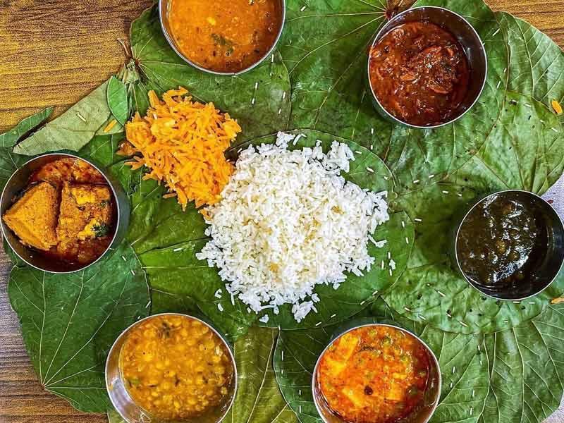 dham, Himachal pradesh food