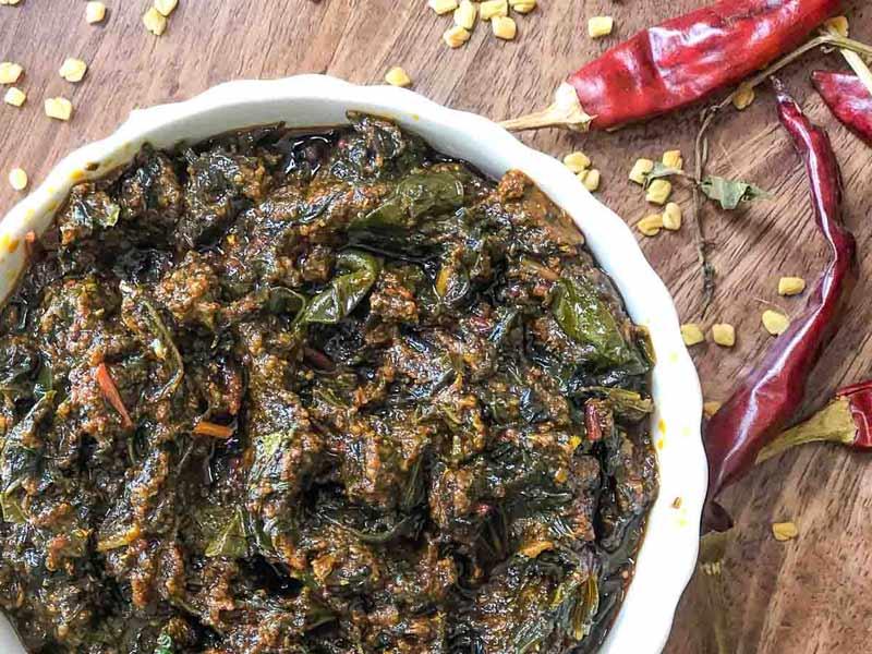 andhra pradesh food, gongura pachadi