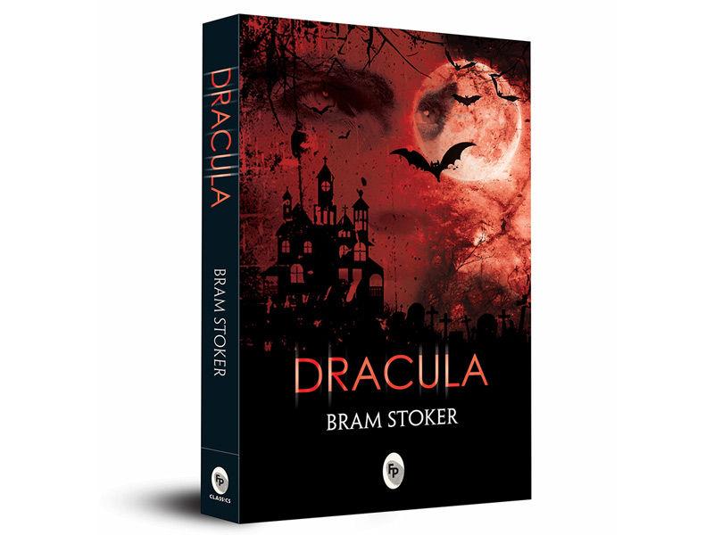 Dracula book, horror book