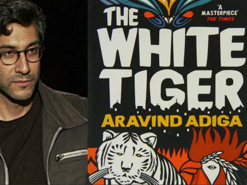the white tiger, indian novelists