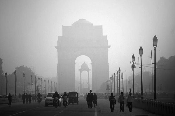 Yesterday saw the effect of odd-even and strong wind in Delhi