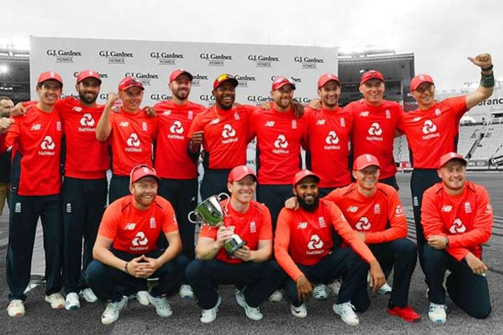 England won the 5-match T20 series 32 by defeating New Zealand in the Super Over