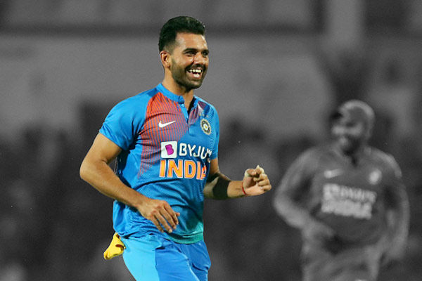 Deepak Chahar's popularity has sky-rocketed after he took a hat-trick