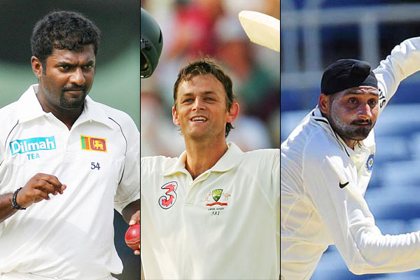 Gilchrist was upset with Muralitharan and Bhajji