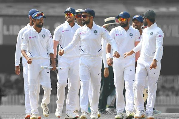 Indore, the first match of the 2-match Test series between India and Bangladesh