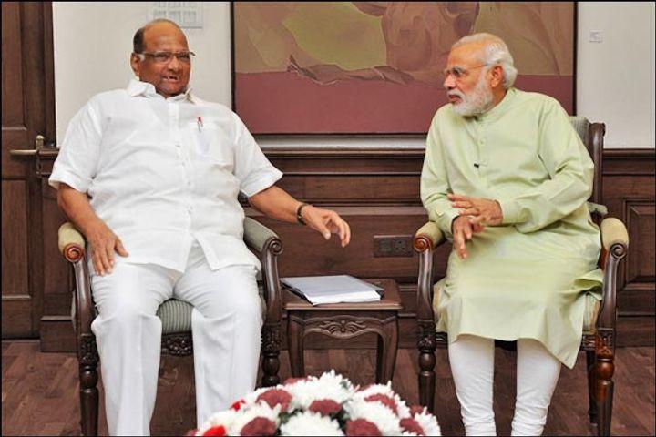 Sharad Pawar meets PM Modi amid political deadlock in Maharashtra