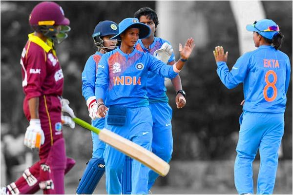 Indian women whitewash West Indies in the Carribean