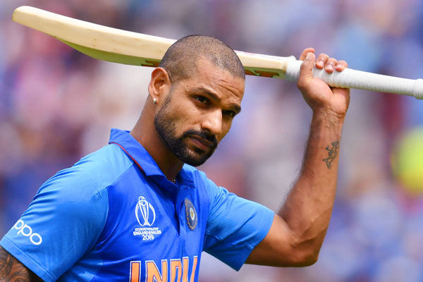 Shikhar Dhawan out of T 20 series against Windies due to injury