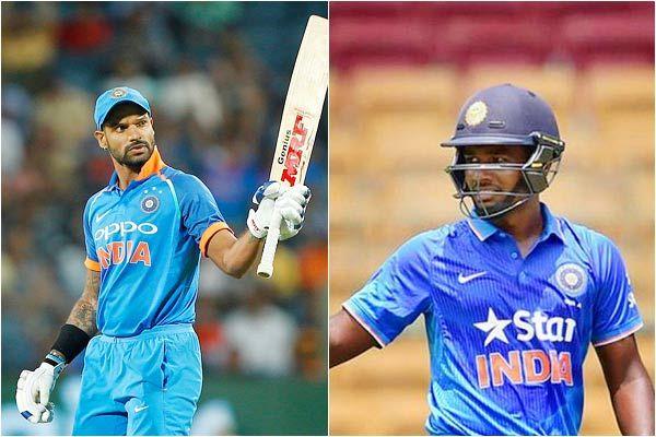 Injured Shikhar Dhawan out, Sanju Samson gets a chance against West Indies