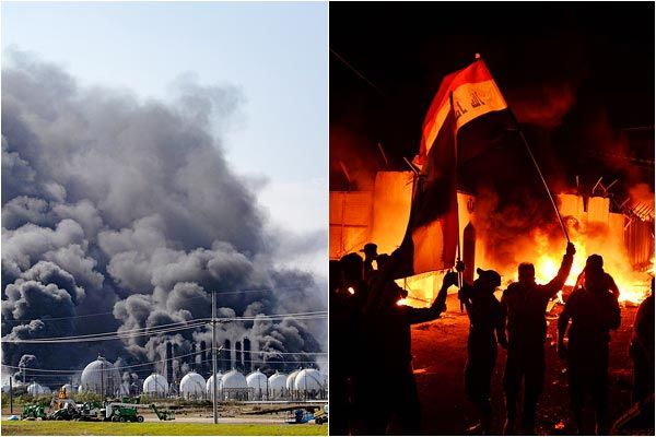 Petrochemical plant has had 2 explosions one after the other