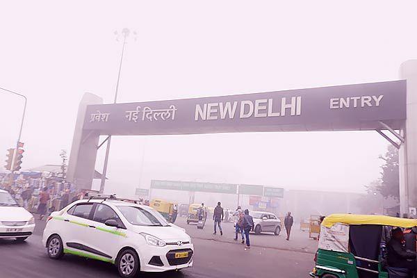 Poisonous air again in Delhi-NCR, beyond AQI 500
