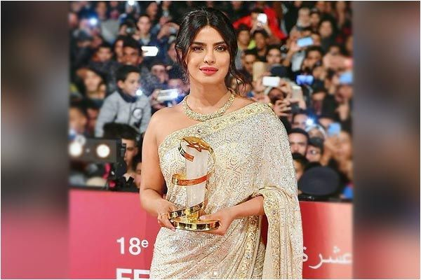 Priyanka Chopra honoured at Marrakech Film Festival for her contribution to cinema