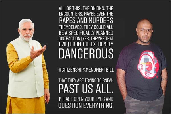 Hyderabad rape a smoke-screen by Modi govt to distract people from Citizenship Bill