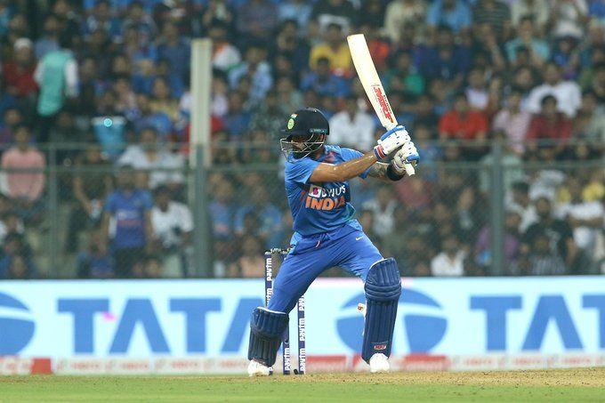 Kohli becomes first Indian to score 1000 T20I runs