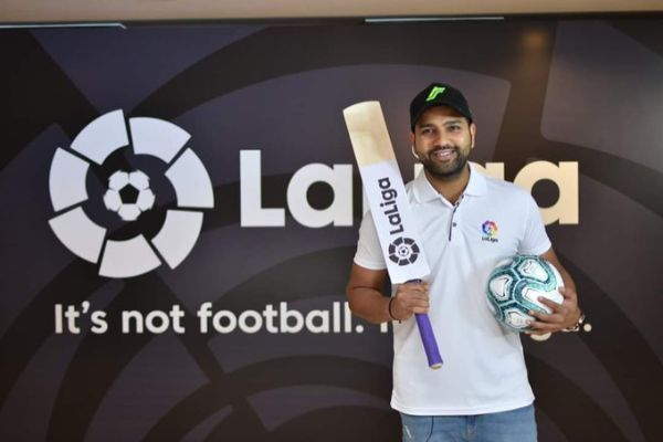 Rohit is the first non footballer brand ambassador
