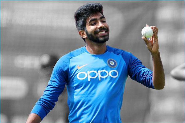 Bumrah to train with Indian team in Vizag