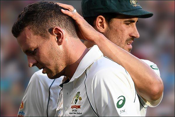 Injured Josh Hazlewood to miss Aus-NZ second Test