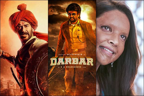 Rajinikanth or Ajay and Deepika to be biggest fight at box office on January 10
