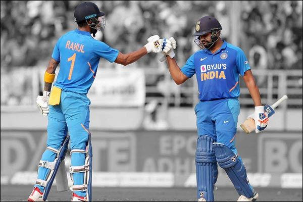 KL Rahul and Rohit hit century, India is heavy on West Indies