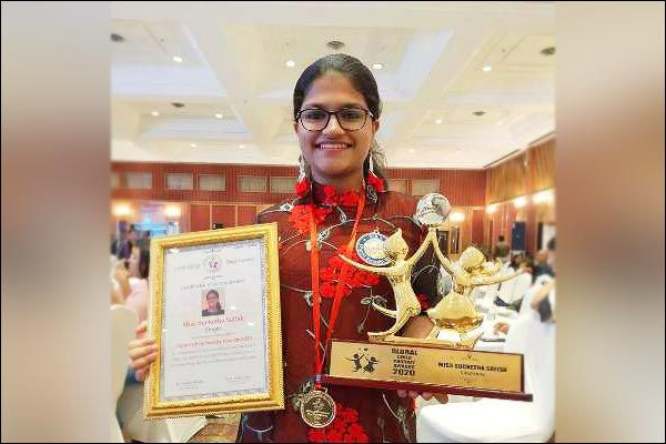 Indian Teen Wins Global Child Prodigy Award for Twin World Records in Singing