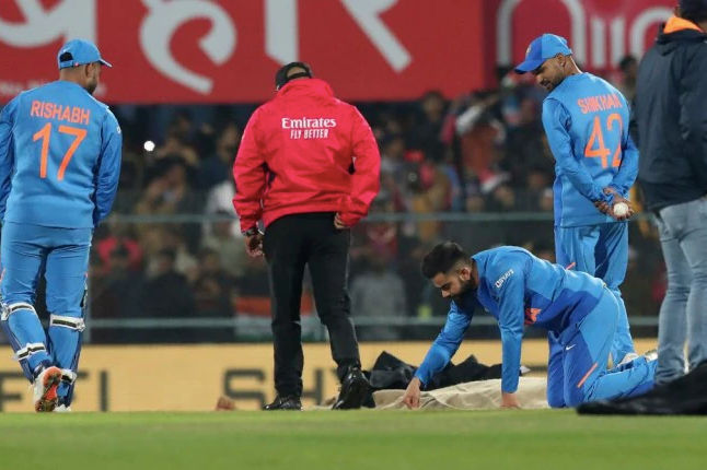 India vs Sri Lanka 1st T20I called off due to wet pitch