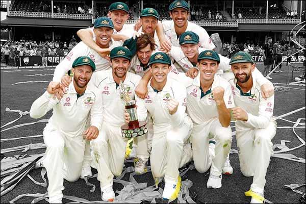 Australia beat New Zealand to win third Test ,atch