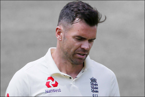 James Anderson to miss rest of England South Africa Test