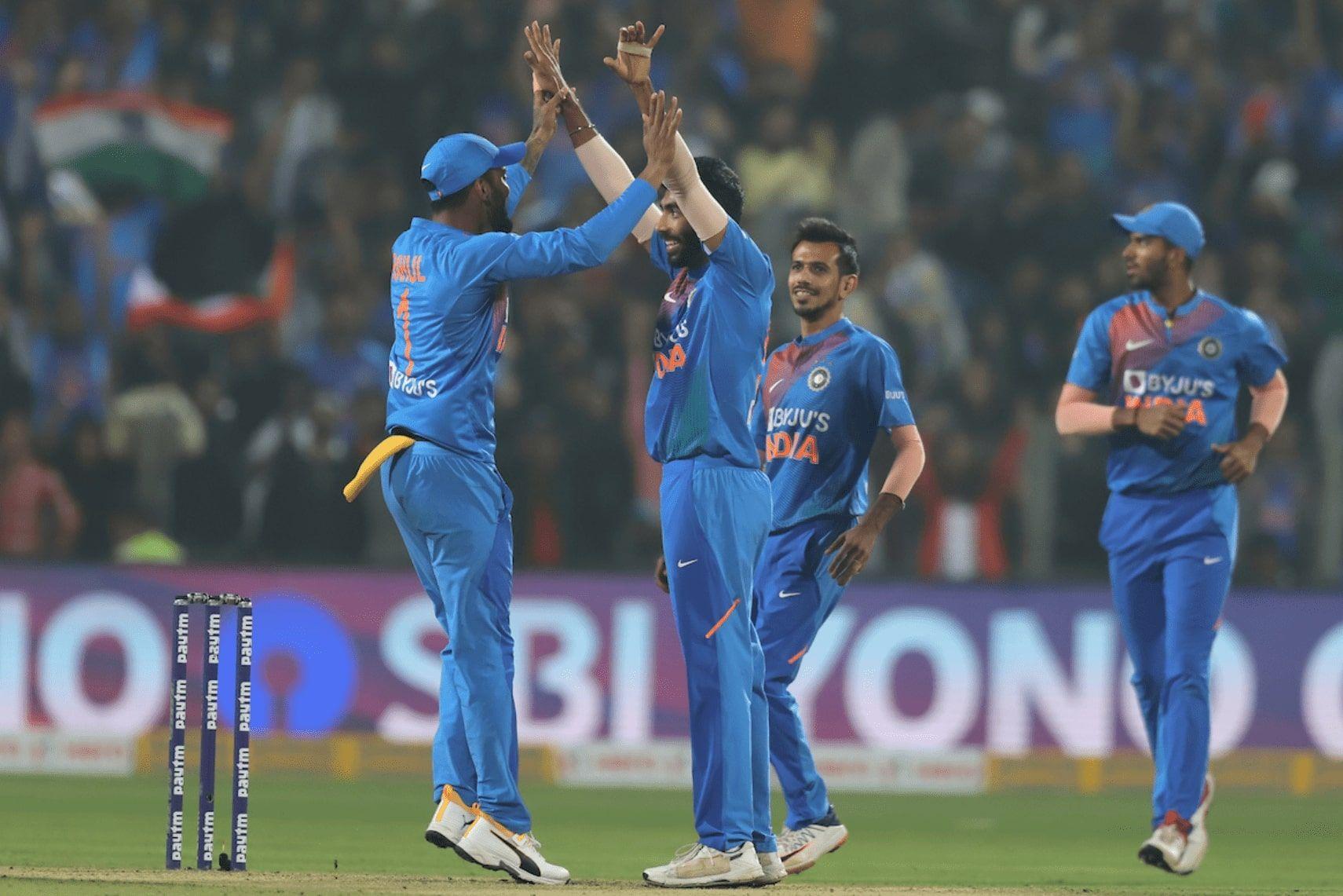 India won the three-match T20 series 20