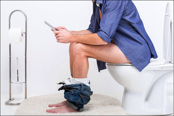 Wife Turns WiFi Off When Husband Camps In Bathroom To Share Parenting Duties