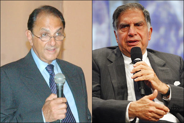 Bombay Dyeing Chairman Nusli Wadia withdrew all defamation cases against Ratan Tata