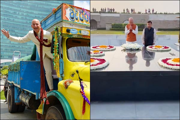 Amazon CEO Jeff Bezos arrived in India for a three day visit on January 14