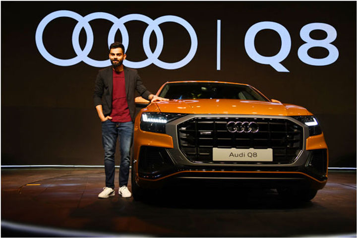 Virat Kohli becomes the first owner of Audi Q8 crossover SUV