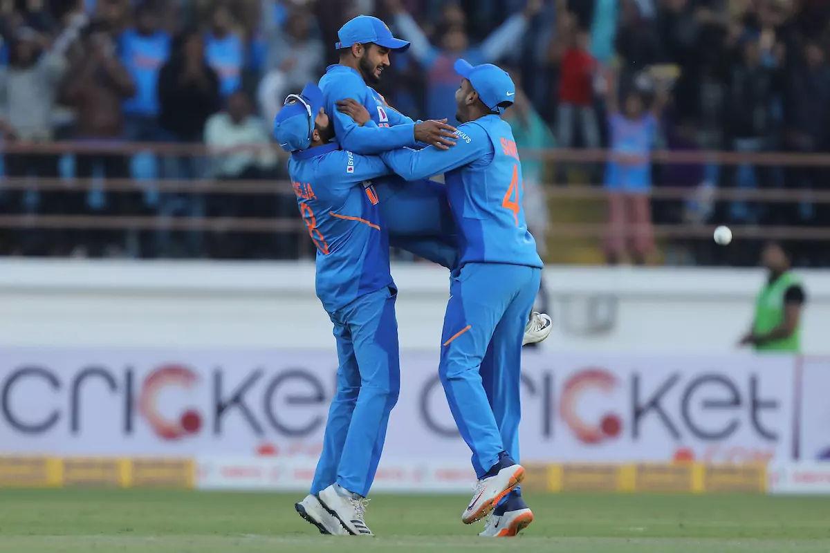 India defeat Australia by 36 runs in 2nd ODI
