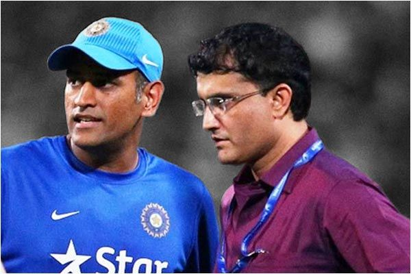 Ganguly refuses to comment on Dhoni omission from BCCI contracts