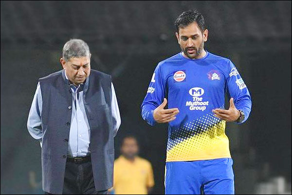 N Srinivasan said No doubt MS Dhoni will be retained by Chennai Super Kings for IPL 2021