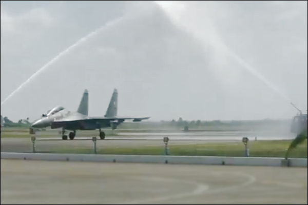 Indian Air Force inducts BrahMos armed Sukhoi-30MKI fighter squadron at Thanjavur