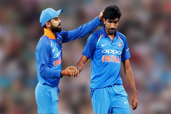 Virat Kohli and  Rohit Sharma retains top batsmen spots