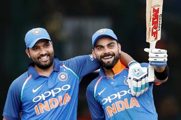 Virat and  Rohit retain top two spots after series win against Australia