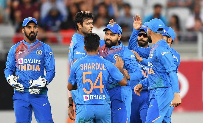 India beat NZ by 6 wickets, record their 3rd highest successful T20I run chase, takes 1-0 lead