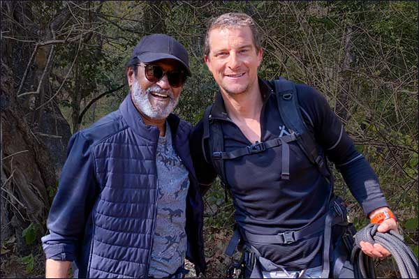 Rajinikanth Thanks Bear Grylls for Unforgettable Experience During Into the Wild Shoot