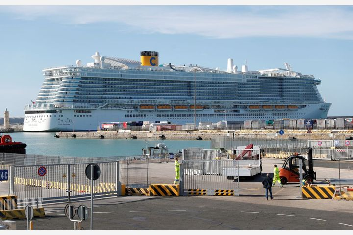 Thousands Trapped In Italian Cruise Ship Over Feared Coronavirus Cases