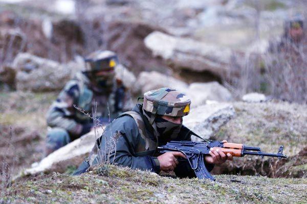 Terrorist attack on CRPF post and three terrorists killed in retaliation