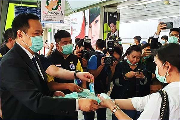 Kick out those not wearing face masks Thailand health minister slams western tourists