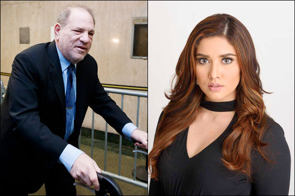 Weinstein Trapped and Assaulted Model in Bathroom