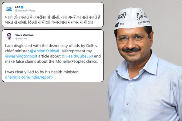 US academic slams Kejriwal for misrepresenting his article about Delhi&rsquos mohalla clinics