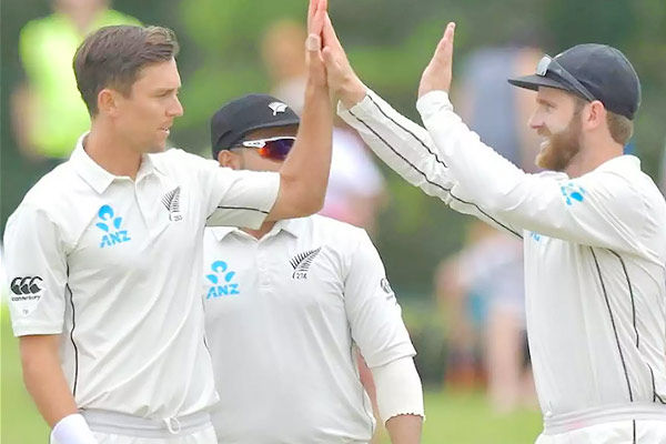 New Zealand announces 13-man squad for Test series vs India