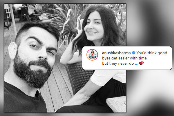 Anushka is unhappy due to Virat said this by sharing photo
