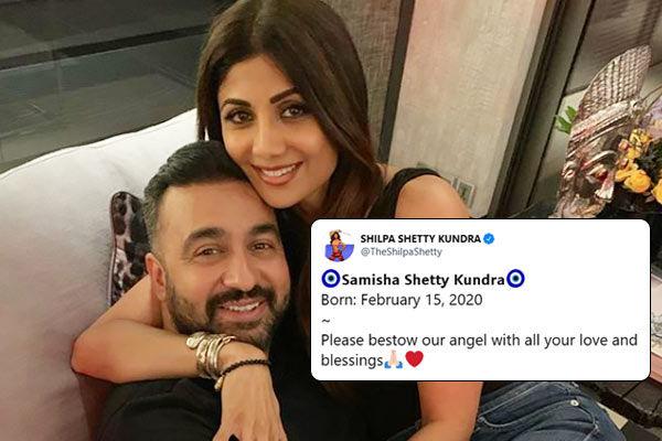 Shilpa Shetty and Raj Kundra welcome baby girl Samisha via surrogacy